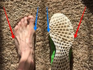 16acc0e1e2db Getting the right fit is generally a matter of ensuring the widest part of  the forefoot lines up with the widest part of your foot.